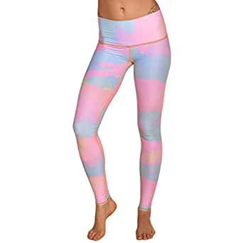 Teeki New Moon Rainbow Hot Pant Yoga Leggings (XS)