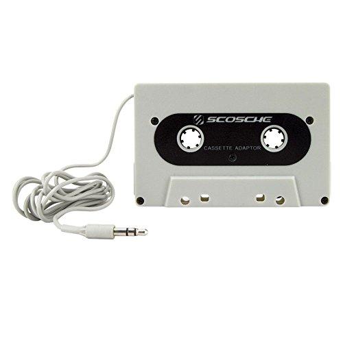 Scosche DeckedOUT- Universal Cassette Adapter- Gray - Stereo Cassette Player Installation