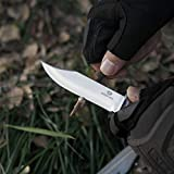 MOSSY OAK 2-pieces Bowie Knife Fixed Blade