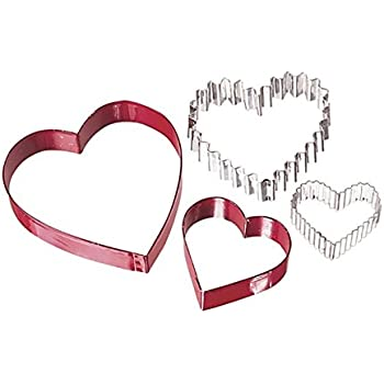 Wilton From The Heart Nesting Cookie Cutter Set