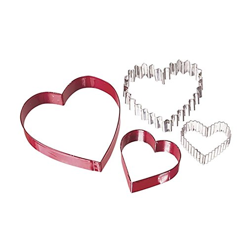 Wilton From The Heart Nesting Cookie Cutter Set (Heart Shaped Cookie Cutter)