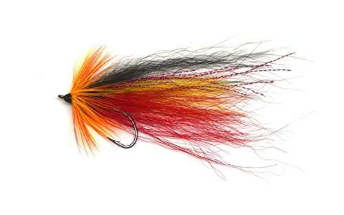 Fly Fishing Saltwater Flies Streamer Steelhead Salmon Striper Musky Pike Trout Mustad Hook (Pike Streamer)