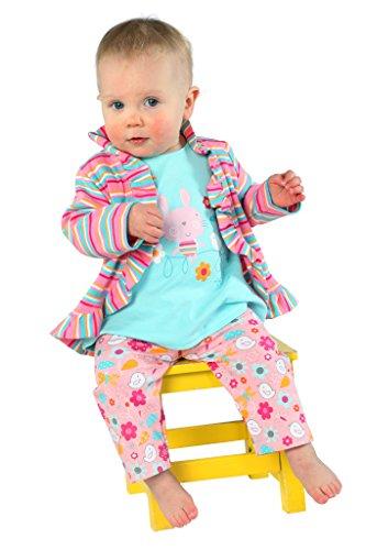 Zutano Baby Girls' Kitty Kat Pant