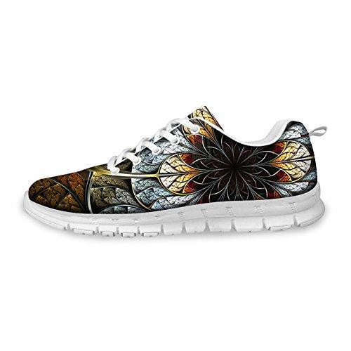 Per Te Disegni Moda Uomo & Donna Sneakers Floreali Traspiranti Scarpe Da Corsa Fiore Di Rame