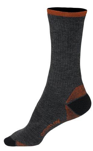 Scent-Lok Men's Hunt N Hike Sock, Charcoal, X-Large