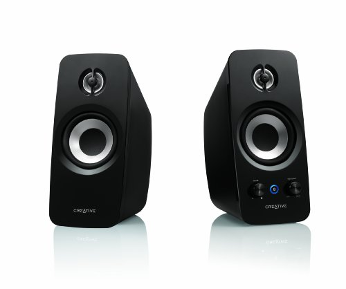 Creative Inspire T15 2.0 Bluetooth Speaker System (2-Piece) Black MF1670AA003