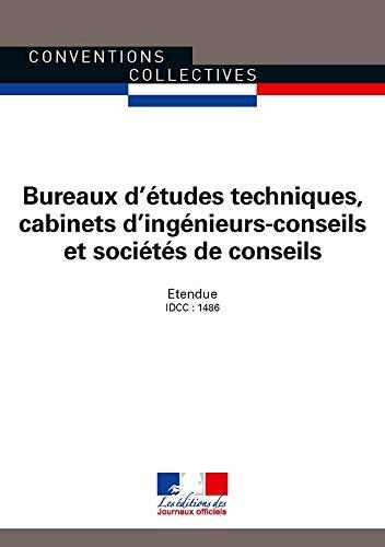 Convention Collective Bureau D Etude Technique Cabinet D Ingenieur Conseil