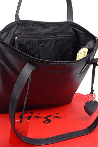 Othello Gigi Leather 9101 Leather Bag Black Gigi Tote P67qXx86