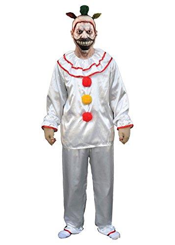 Palamon American Horror Story Twisty Clown Men Costume White (American Horror Story Twisty The Clown Costume)