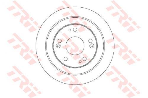 Trw DF6526 Rotore Disco Freno