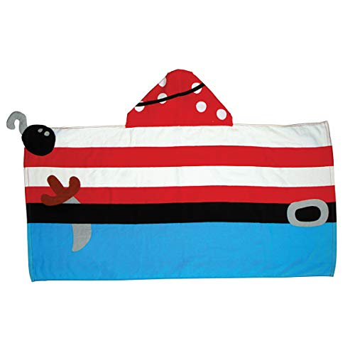 Stephen Joseph Hooded Towel, Pirate