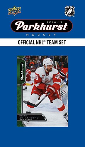 Upper Deck Detroit Red Wings - Detroit Red Wings 2016 2017 Upper Deck PARKHURST Series Factory Sealed Team Set including Henrik Zatterberg, Mike Green, Dylan Larkin Plus