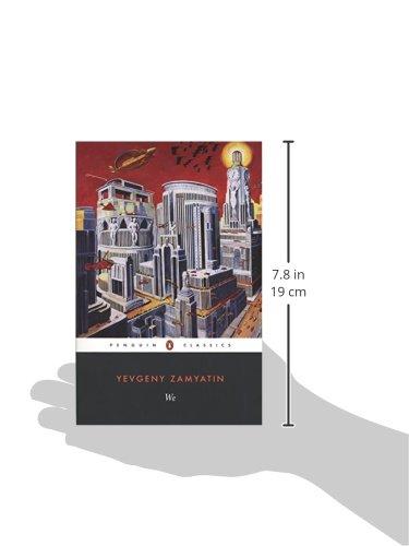 We Yevgeny Zamyatin Clarence Brown Clarence Brown 9780140185850 Amazon Com Books