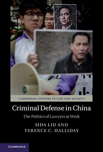 Criminal Defense in China: The Politics of Lawyers at Work (Cambridge Studies in Law and Society)