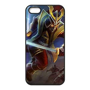 iPhone 4 4s Cell Phone Case Black League of Legends Warlord Shen Kvkg