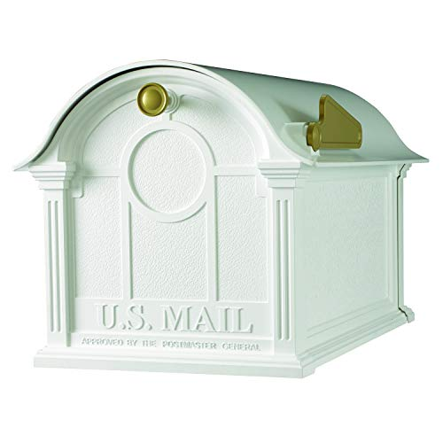 (Whitehall Products Balmoral Mailbox, White)