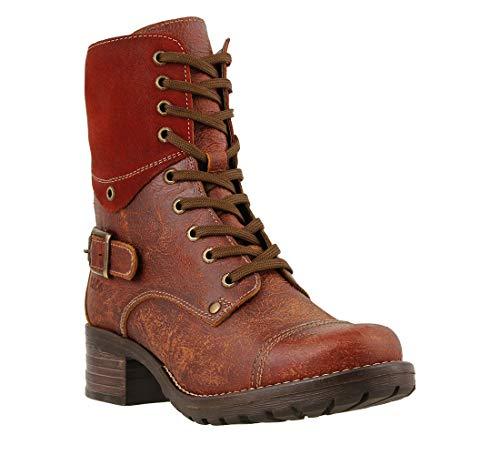 (Taos Footwear Women's Crave Brick Boot 5 M US)