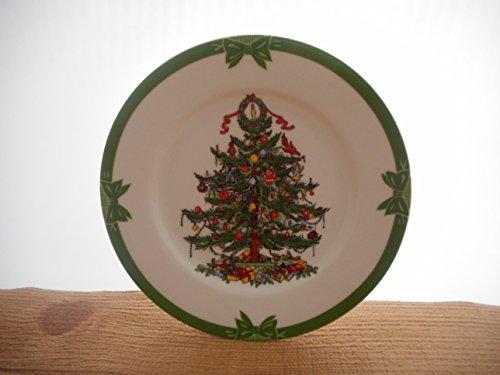 (Yule Tide Christmas Tree Salad Plate Georges Briard BX 1)