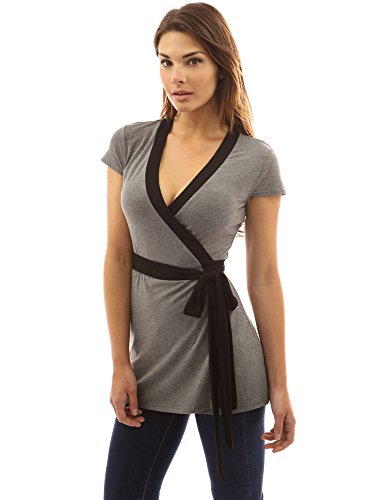 PattyBoutik Women%C3%A2 s Neck Sleeve Tunic product image