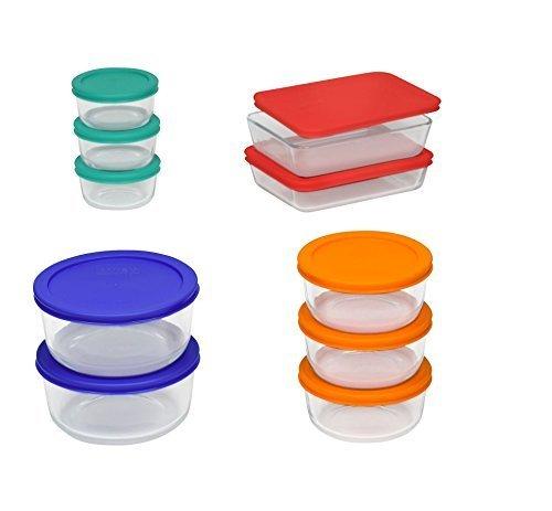 Pyrex Glass Storage Set - 20 Pc. ()