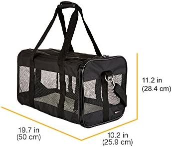 Transportín de viaje de malla suave para mascotas 8