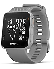 Garmin Approach S10, Lightweight GPS Golf Watch, Powder Gray