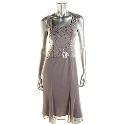 Alex Evenings Women's Tea-Length Dress With Jacket (Petite and Regular Sizes)