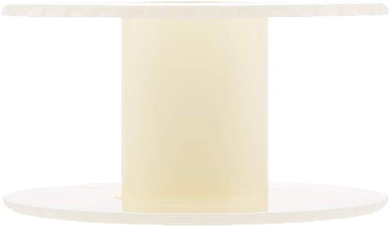 20pcs 6.4x5.8cm Bobine Vide en Plastique Rouleau Cha/îne Fil Bobine Artisanat Fil Corde Fil Cordon pour la Couture Bricolages Bijoux PandaHall Elite
