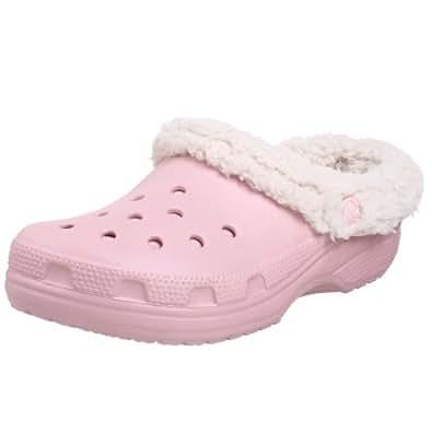 crocs Unisex Mammoth Clog,Cotton Candy/Oatmeal,Men's 9 M/Women's 11 M