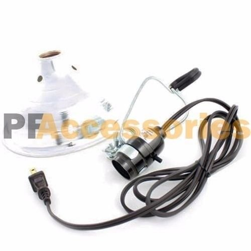 12 Pcs Heavy Duty 8-1/2 Aluminum Reflector Shade Clamp on Work Light Lamp ETL by Generic (Image #6)