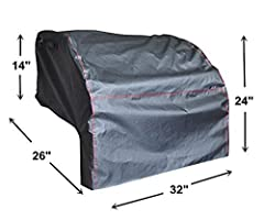 "BBQ Coverpro: BBQ Coverpro introduces its new BBQ Grill Cover.    ※Vinyl cover for built-in 32-inch grill. ※Protects built-in grill from all weather conditions.  ※High heat resistant cover, UV protection and resists cold cracking. ※Size: 33"" ..."