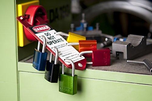 ABUS 72/30 KA Safety Lockout Aluminum Keyed Alike Padlock, Purple by ABUS (Image #2)