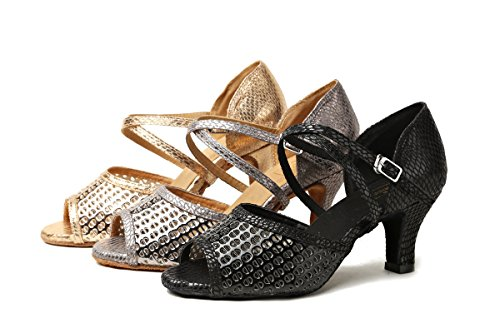Femme Danse Minitoo Heel De 6cm Salon Black q7ndqtwz0