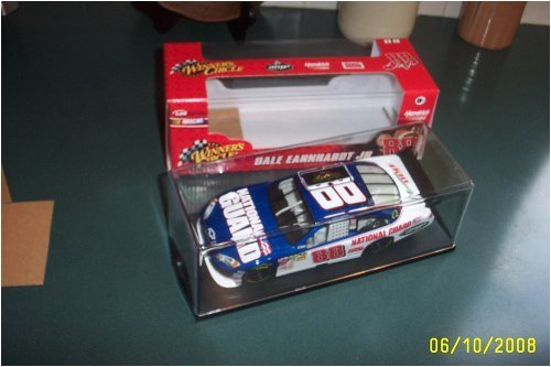 (Dale Earnhardt Jr #88 National Guard AMP Mountain Dew Winners Circle 1/24 Car of Tomorrow Today With Hard Acrylic Display Case)