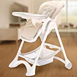 Baby Chair Infant Feeding Baby Dining Chair Baby Stool Children's Restaurant Camping, Beach, Lawn, Fold Convertible High Chair Aseptic Plastic Blue,C