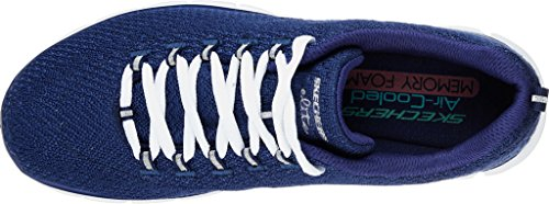 Skechers Synergy Safe and Sound, Zapatillas de Running para Mujer azul marino