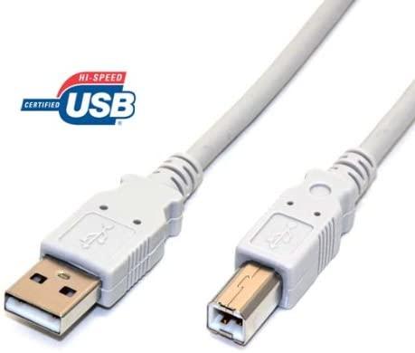 Cable de Impresora USB 2.0 de Alta Velocidad de 1,8 m A a B ...