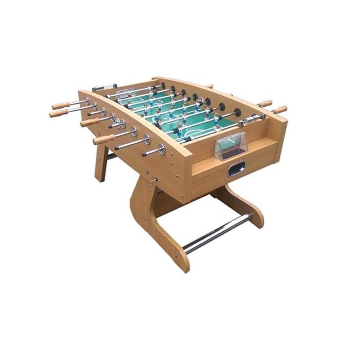 """41u8YEgJhtL ✅ BOLETO PEQUEÑO PARA TODAS PARTES: El práctico tablero """"Kicker"""" se adapta a cualquier mesa, pero también se puede usar en todas las superficies planas. ✅ ALTA CALIDAD Y SEGURIDAD: la pequeña mesa de fútbol tiene un cuerpo hecho de una decoración de plástico insensible, campo de juego endurecido, figuras hechas de plástico duro resistente, gomas antideslizantes, amortiguadores de barra, barras cromadas con cerradura de seguridad para niños. ✅ TAMAÑO COMPACTO Y PESO LIGERO: Gracias a sus dimensiones compactas y bajo peso, la Mini Foosball Table es perfecta para divertirse con patadas móviles y flexibles."""