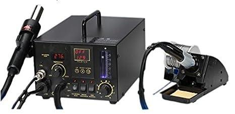 GOWE 220 V pistola de aire caliente de soldador 2-in-1 estación de soldadura estación SMD: Amazon.es: Bricolaje y herramientas