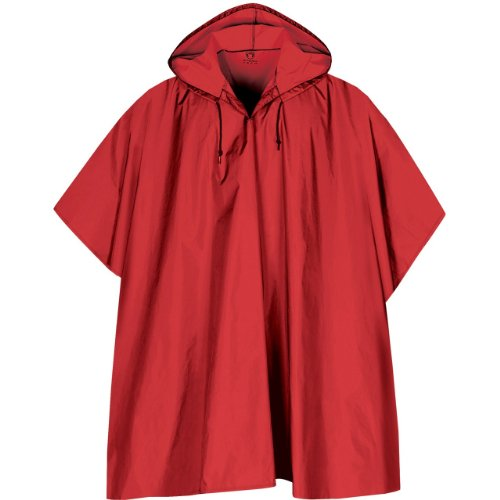 Stormtech - Packable Rain Poncho, Red -