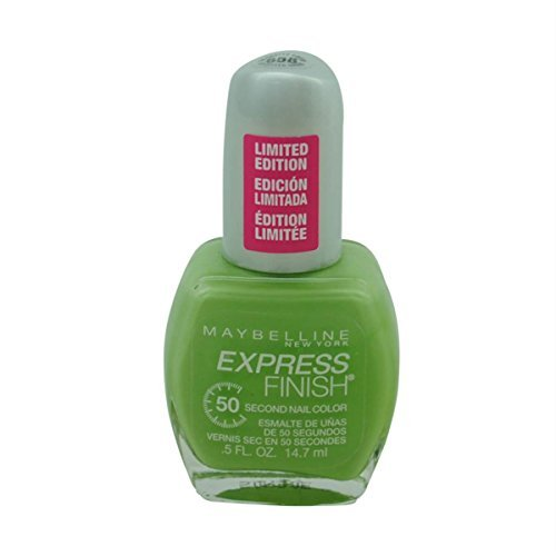(Maybelline Express Finish 50 Second Nail Color #658 Go-Getter Green)
