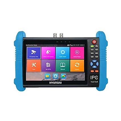 CCTV Tester Profesional multifunción Hyundai Touch 7 LCD 5 in1 AHD y HDCVI y TVI