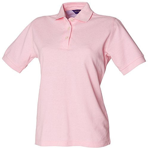 Shirt Mujer Cotton Polo Rosa Ladies Henbury cHCqSx