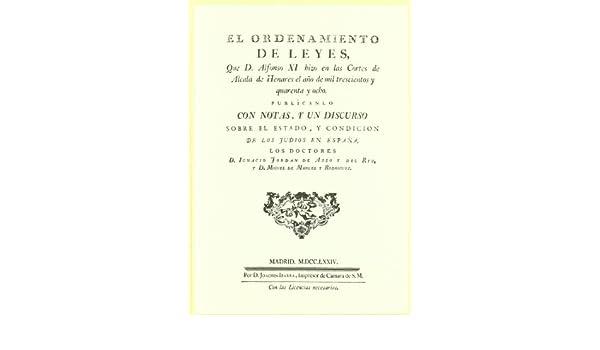 Ordenamiento de Leyes de Alcalá de Henares de 1348: Amazon ...