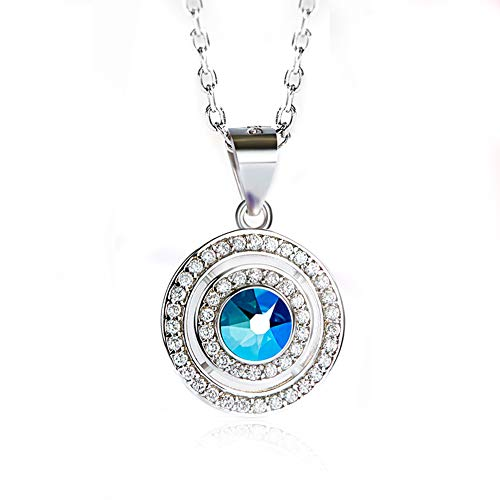(Mom Birthday Thanksgiving The Heart of The Elves' Love Heart Pendant Necklace - Fashion Jewelry for Women - Anniversary Present for Daughter, Wife, Aunt, Nana, Mum)