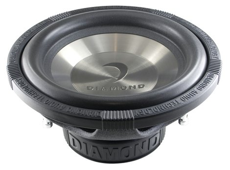 Diamond Audio D1 12D2 12-Inch 200 Watts RMS Dual 2 Ohm Subwoofer 400 W Max