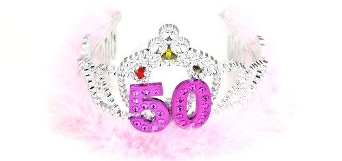 - Forum Novelties Flashing Birthday Tiara #50 Novelty Item