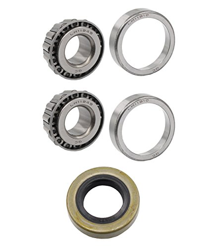 Club Car Front Wheel Bearings & Seal Kit 1982-2002 DS Golf Cart Gas & Elec