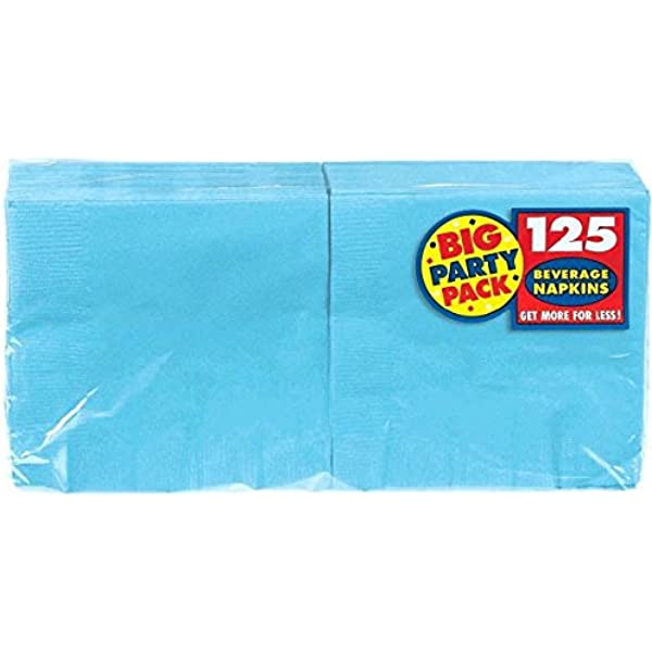Pack of 20 Party Supply Caribbean 2-Ply Dinner Napkins