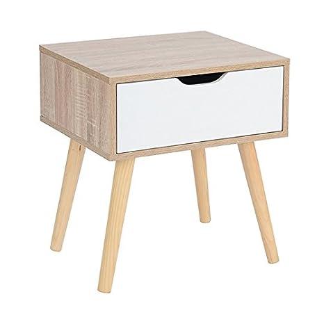 Ihouse - 2 cajones de almacenamiento de madera para debajo de la cama, con ruedas